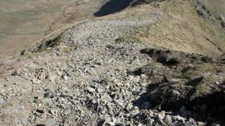 Looking down on Long Stile from High Street