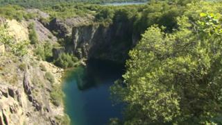 Glyn Rhonwy quarry