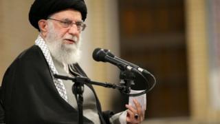 El líder supremo iraní, Alí Jamenei.