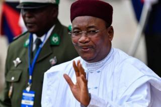Niger president Mahamadou Issoufou