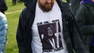 """Tek umudumuz Jeremy Corbyn"""
