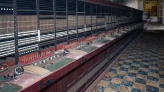 Telephone exchange at the Burlington Bunker