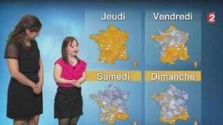 Мелани Сегар в эфире France 2