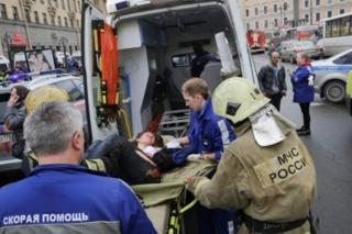 росія, вибух, метро, поранений, санкт-петербург