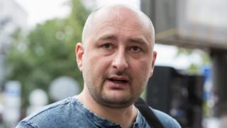 Ông Arkady Babchenko là một nhà báo Nga nổi tiếng và là cựu chiến binh trong các cuộc chiến Chechya