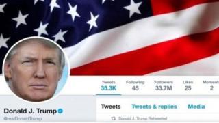 حساب دونالد ترامب