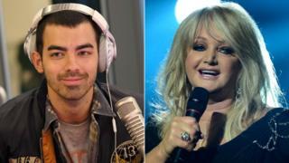 Joe Jonas and Bonnie Tyler