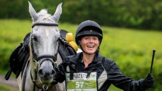 Horse Rheidol Petra, ridden by Iola Evans, won the event with a time of two hours and 30 minutes