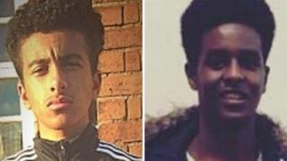 Waseem Muflahi and Yahye Omar Mohamed