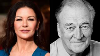 Catherine Zeta Jones and Moray Watson