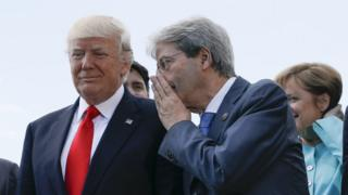 Трамп и премьер-министр Италии