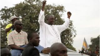 rais wa gambia ameseama kuwa atarudi Gambia usalama ukiimarika