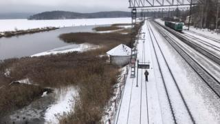 По этой железной дороге ходят электрички из Новоуральска в Екатеринбург