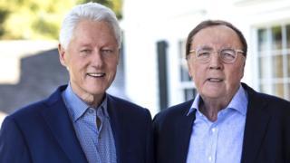 克林顿和派特森