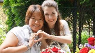 中岛爱与蒂娜·鲍曼