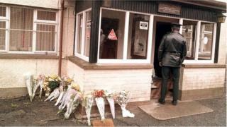 Loughinisland tributes