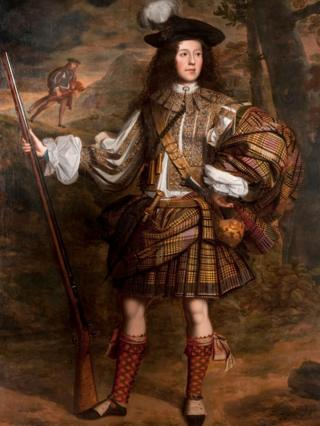A Highland Chieftain: Portrait of Lord Mungo Murray
