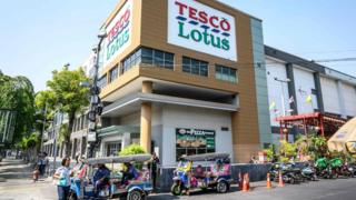 Tesco Lotus store in Thailand