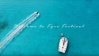 Fotograma del video promocional de Fyre Festival