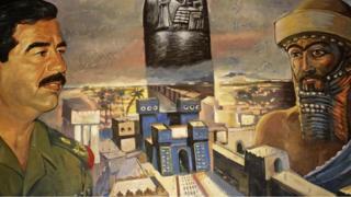 Saddam Hüseyin ve Nebukadnezar