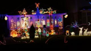 Runton Road Christmas Lights