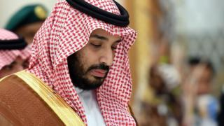 Saudi Defence Minister Mohammed bin Salman in Riyadh