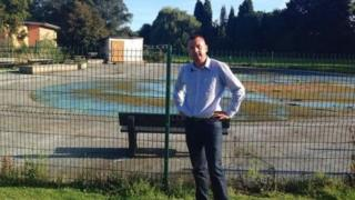 Newport splash park