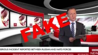 Glumac Mark Rajs u lažnom BBC video klipu