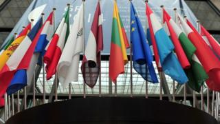 Флаги стран-членов Совета ЕС