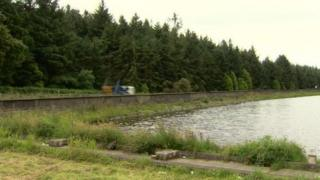 Woodburn reservoir, near Carrickfergus