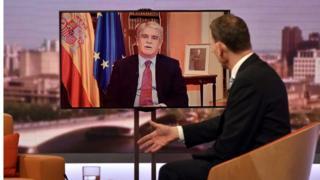 Министр иностранных дел Испании Альфонсо Дастис