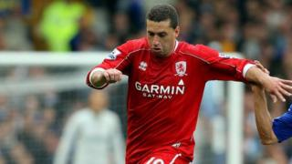Fabio Rochemback when he played for Middlesbrough