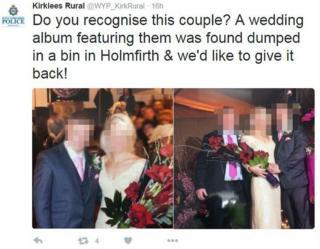 Wedding photo appeal