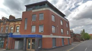 The former regional headquarters of Citizens Advice in NI has been closed