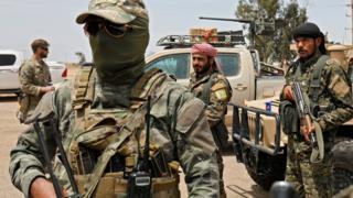 قوات سوريا الديمقراطية في محافظة دير الزور