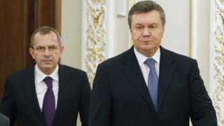 Клюев и Янукович