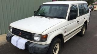 The white vehicle which belonged to Marcus Martin