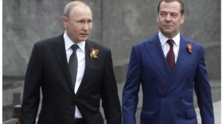 Путин ва Медведев
