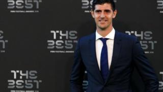 Thibaut Courtois won the goalkeeper award