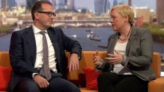 Owen Smith and Angela Eagle