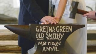 science Gretna Wedding