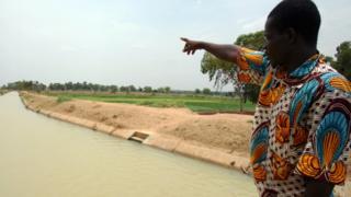 Irrigation farm for Burkina Faso