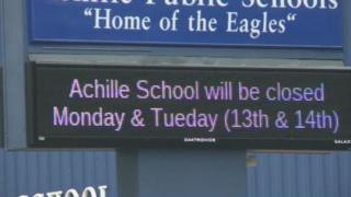 The school is closed.