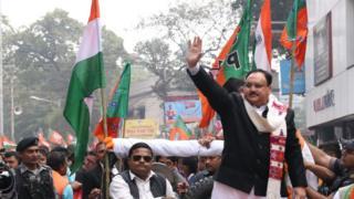 जेपी नड्डा बंगाल रैली
