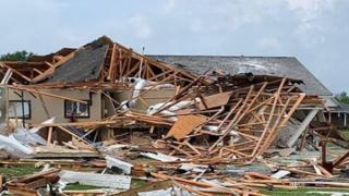 Damage in Louisiana