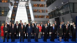 Фото с саммита НАТО
