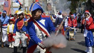 Conmemoración de la Batalla de Puebla