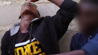 Youth wey dey drink codeine