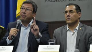 César Navas y Patricio Zambrano