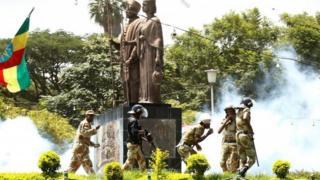 Sannadkii hore waxay mudaaharaadyo lagu dhintay ka dheceen gobollada Oromia iyo Amhara